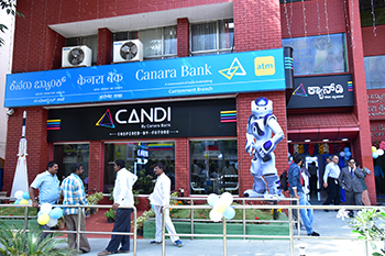"Launch of its first Digital Banking Branch ""CANDI"""